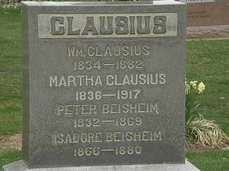 CLAUSIUS, WM. - Lorain County, Ohio | WM. CLAUSIUS - Ohio Gravestone Photos
