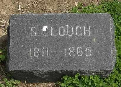 CLOUGH, S. - Lorain County, Ohio | S. CLOUGH - Ohio Gravestone Photos
