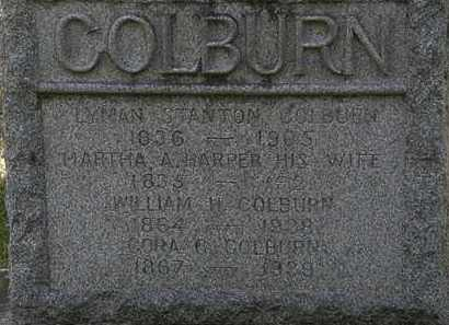COLBURN, MARTHA A. - Lorain County, Ohio | MARTHA A. COLBURN - Ohio Gravestone Photos