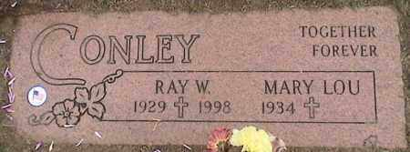 CONLEY, RAY - Lorain County, Ohio | RAY CONLEY - Ohio Gravestone Photos