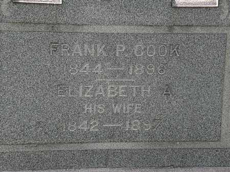 COOK, ELIZABETH A. - Lorain County, Ohio | ELIZABETH A. COOK - Ohio Gravestone Photos
