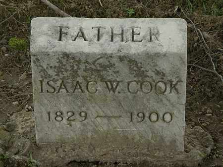 COOK, ISAAC W. - Lorain County, Ohio | ISAAC W. COOK - Ohio Gravestone Photos