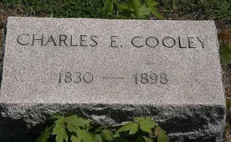 COOLEY, CHARLES E. - Lorain County, Ohio | CHARLES E. COOLEY - Ohio Gravestone Photos