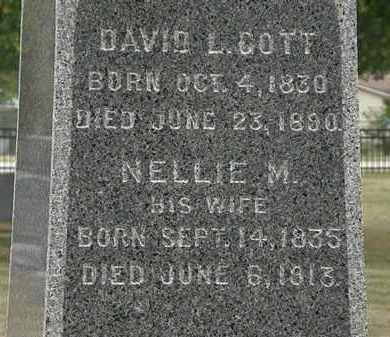COTT, NELLIE M. - Lorain County, Ohio | NELLIE M. COTT - Ohio Gravestone Photos