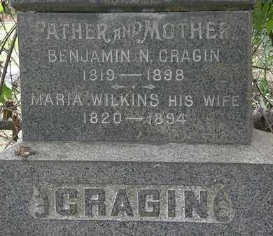 CRAGIN, BENJAMIN N. - Lorain County, Ohio | BENJAMIN N. CRAGIN - Ohio Gravestone Photos