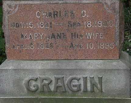 CRAGIN, MARY JANE - Lorain County, Ohio | MARY JANE CRAGIN - Ohio Gravestone Photos
