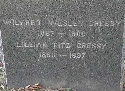 CRESSY, WILFRED WESLEY - Lorain County, Ohio | WILFRED WESLEY CRESSY - Ohio Gravestone Photos