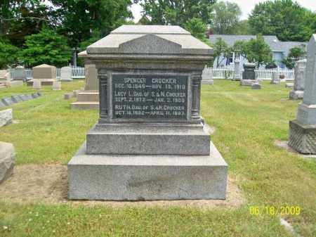 CROCKER, SPENCER - Lorain County, Ohio | SPENCER CROCKER - Ohio Gravestone Photos