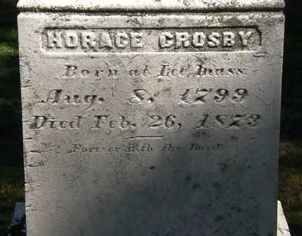 CROSBY, HORACE - Lorain County, Ohio | HORACE CROSBY - Ohio Gravestone Photos