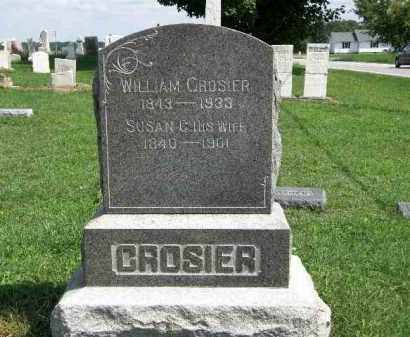 CROSIER, WILLIAM - Lorain County, Ohio | WILLIAM CROSIER - Ohio Gravestone Photos