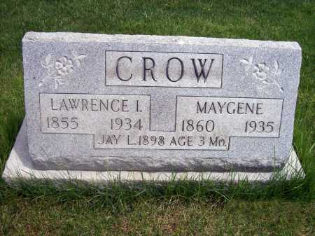CROW, LAWRENCE - Lorain County, Ohio | LAWRENCE CROW - Ohio Gravestone Photos