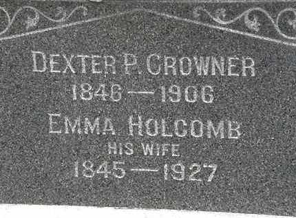 CROWNER, EMMA - Lorain County, Ohio | EMMA CROWNER - Ohio Gravestone Photos