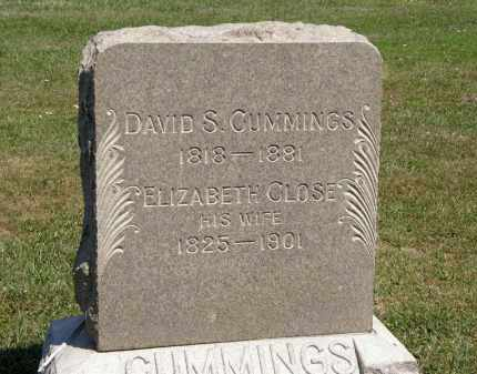 CUMMINGS, DAVID S. - Lorain County, Ohio | DAVID S. CUMMINGS - Ohio Gravestone Photos