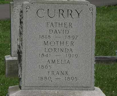CURRY, LORINDA - Lorain County, Ohio | LORINDA CURRY - Ohio Gravestone Photos