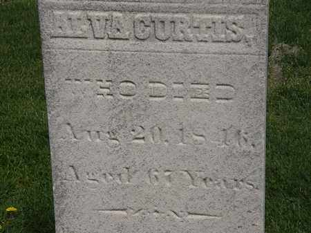 CURTIS, ALVA - Lorain County, Ohio | ALVA CURTIS - Ohio Gravestone Photos