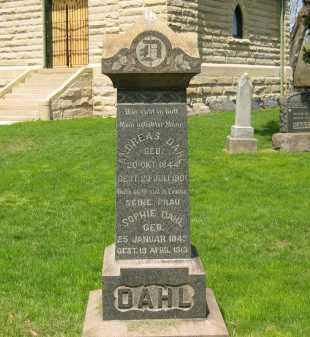 DAHL, SOPHIE - Lorain County, Ohio | SOPHIE DAHL - Ohio Gravestone Photos
