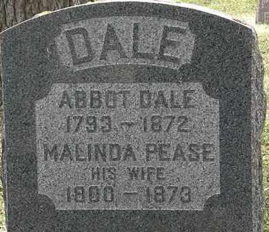 DALE, ABBOT - Lorain County, Ohio | ABBOT DALE - Ohio Gravestone Photos
