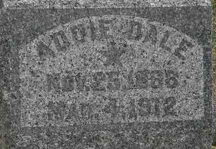 DALE, ADDIE - Lorain County, Ohio | ADDIE DALE - Ohio Gravestone Photos