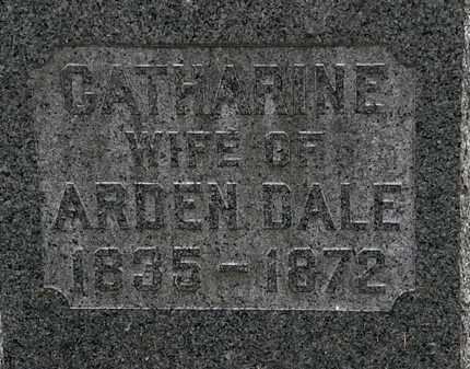 DALE, CATHARINE - Lorain County, Ohio | CATHARINE DALE - Ohio Gravestone Photos