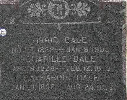 DALE, ORRIC - Lorain County, Ohio | ORRIC DALE - Ohio Gravestone Photos