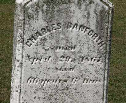 DANFORTH, CHARLES - Lorain County, Ohio | CHARLES DANFORTH - Ohio Gravestone Photos