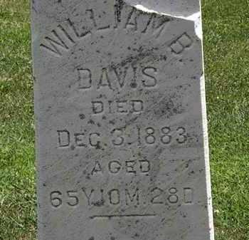 DAVIS, WILLIAM B. - Lorain County, Ohio | WILLIAM B. DAVIS - Ohio Gravestone Photos