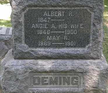 DEMING, MAY R. - Lorain County, Ohio | MAY R. DEMING - Ohio Gravestone Photos
