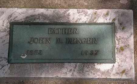 DENGER, JOHN D. - Lorain County, Ohio | JOHN D. DENGER - Ohio Gravestone Photos