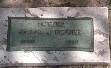 DENGER, SARAH J. - Lorain County, Ohio | SARAH J. DENGER - Ohio Gravestone Photos