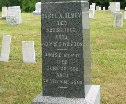 DEWEY, DANIEL A. - Lorain County, Ohio | DANIEL A. DEWEY - Ohio Gravestone Photos
