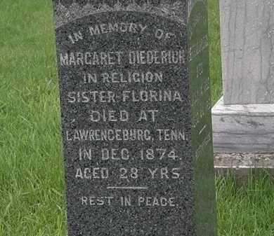 DIEDERICH, MARGARET - Lorain County, Ohio | MARGARET DIEDERICH - Ohio Gravestone Photos