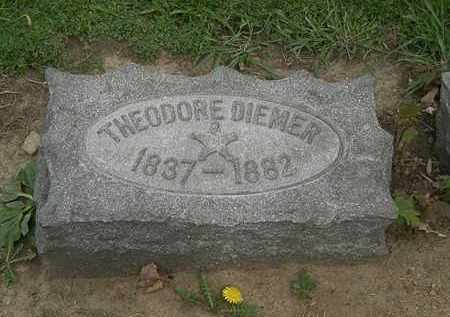 DIEMER, THEODORE - Lorain County, Ohio | THEODORE DIEMER - Ohio Gravestone Photos