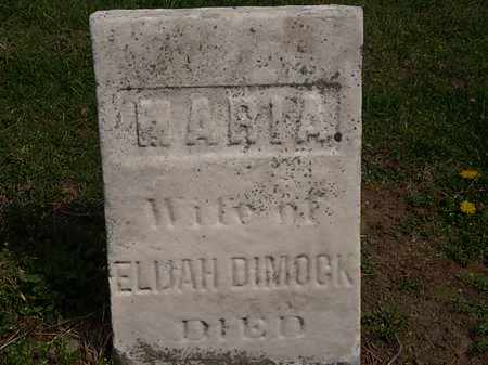 DIMOCK, ELIJAH - Lorain County, Ohio | ELIJAH DIMOCK - Ohio Gravestone Photos