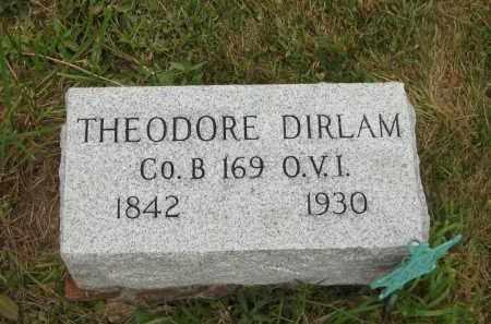 DIRLAM, THEODORE - Lorain County, Ohio | THEODORE DIRLAM - Ohio Gravestone Photos
