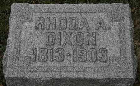 DIXON, RHODA A. - Lorain County, Ohio | RHODA A. DIXON - Ohio Gravestone Photos