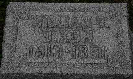 DIXON, WILLIAM B. - Lorain County, Ohio | WILLIAM B. DIXON - Ohio Gravestone Photos