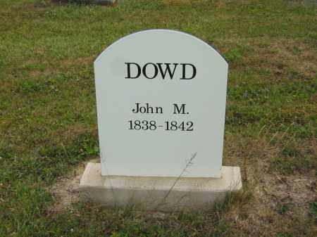 DOWD, JOHN M. - Lorain County, Ohio | JOHN M. DOWD - Ohio Gravestone Photos