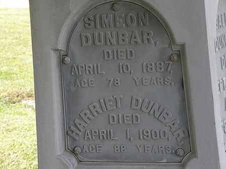 DUNBAR, HARRIET - Lorain County, Ohio | HARRIET DUNBAR - Ohio Gravestone Photos