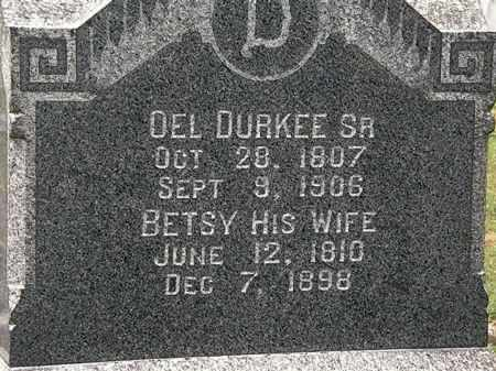 DURKEE, DEL - Lorain County, Ohio | DEL DURKEE - Ohio Gravestone Photos