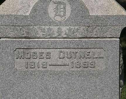 DUTNELL, MOSES - Lorain County, Ohio | MOSES DUTNELL - Ohio Gravestone Photos