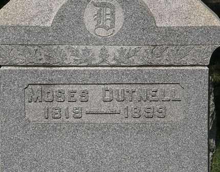 DUTNELL, MOSES - Lorain County, Ohio | MOSES DUTNELL - Ohio Gravestone Photos