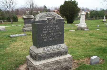 HART ECKLER, CORNELIA  M. - Lorain County, Ohio | CORNELIA  M. HART ECKLER - Ohio Gravestone Photos