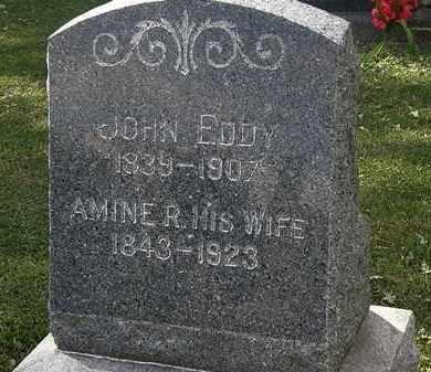 EDDY, AMINE R. - Lorain County, Ohio | AMINE R. EDDY - Ohio Gravestone Photos