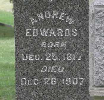 EDWARDS, ANDREW - Lorain County, Ohio | ANDREW EDWARDS - Ohio Gravestone Photos