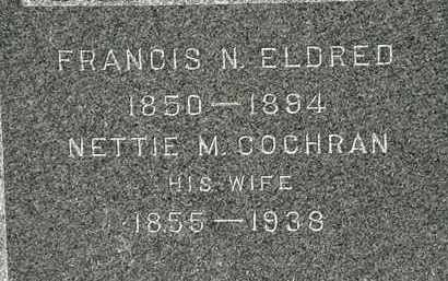 ELDRED, NETTIE M. - Lorain County, Ohio | NETTIE M. ELDRED - Ohio Gravestone Photos