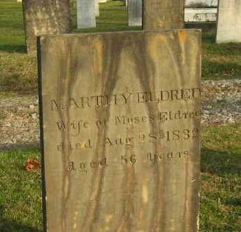 ELDRED, MOSES - Lorain County, Ohio | MOSES ELDRED - Ohio Gravestone Photos