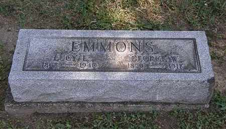 EMMONS, GEORGE W. - Lorain County, Ohio | GEORGE W. EMMONS - Ohio Gravestone Photos