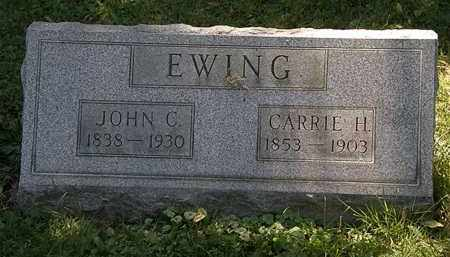 EWING, CARRIE H. - Lorain County, Ohio | CARRIE H. EWING - Ohio Gravestone Photos