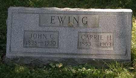 EWING, JOHN C. - Lorain County, Ohio | JOHN C. EWING - Ohio Gravestone Photos