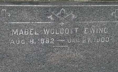 WOLCOTT EWING, MABEL - Lorain County, Ohio | MABEL WOLCOTT EWING - Ohio Gravestone Photos